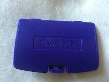 Nintendo Gameboy Color GBC Game Boy Colour Replacement Battery Cover - purple
