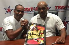 """Signed"" Mike Tyson Vs Buster"" Douglas On-Site (1990-Japan) Fight Program"