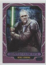 2012 Topps Star Wars Galactic Files #190 General Rahm Kota Non-Sports Card 2k3