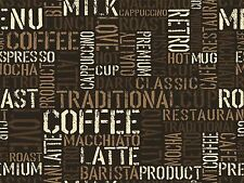 PAINTING TYPOGRAPHY COFFEE ABSTRACT PATTERN DESIGN VECTOR POSTER PRINT BMP10193