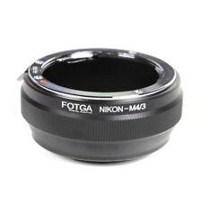 Anillo Adaptador para Nikon AI Lente Micro 4/3 M4/3 E-PL9 E-PL8 E-PL7 GH5 GH4 GF9