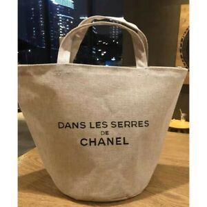 Chanel Novelty Dans Lesserres Tote Bag linen