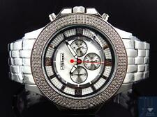 Mens Jojino/Joe Rodeo/Jojo XL Stainless Steel 54mm Real 25 Diamond Watch MJ-1204