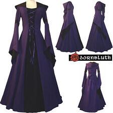 medioevo gotico Carnevale veste vestito costume Josephine Viola-Nero xs-60