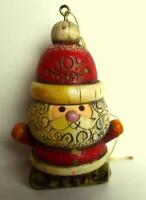 Hallmark Cards Santa Claus JOY ornament 1976 vintage