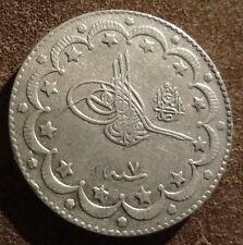 TURKEY - AH1327/7-1915 10 Silver Kurush / el-Ghazi !!
