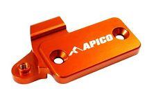Apico Clutch Reservoir Cover Cap KTM 250 KTM 450 KTM 500 ORANGE with Hot Start