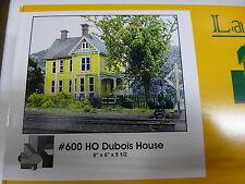 """Branchline HO #600 Dubois House kit (6"""" x 6"""" x 5-1/2"""") Laser-Art"""
