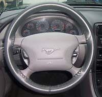 Buick Genuine Leather Steering Wheel Cover - Most Models Custom