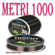 FILO NYLON NERO AFFONDANTE BOBINA METRI 1000 PESCA CARPA CARPFISHING LAGO 0,34