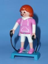 Playmobil femenino Figura & Stepper Ejercicio - Mantenerse Apto / GIMNASIO CASA