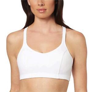 Champion Women's Shaped T-Back Sports Bra, White, 34C, White, Size 36C wqV6