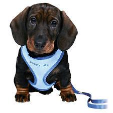 Trixie Welpengeschirr Welpengarnitur (W) + Leine Softgeschirr Hunde Welpen Farbe