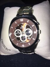 croton mens watch, Sapphire Crystal 5atm Water Resistant