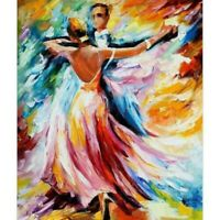 5D Full Drill Dancing Lover Diamond Painting Embroidery Cross Stitch Kits Decors