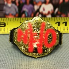 "WWE Wrestling Mattel Elite NWO World Heavyweight Championship Title Belt 6-7"""
