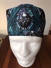 Black Panther Men's Surgical Scrub Hat - Skull Cap
