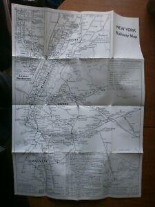Quail Maps-New York Railway Map 1978