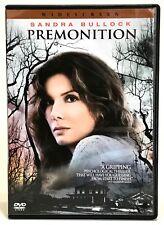 Premonition DVD 2007 Widescreen Sandra Bullock Psychological Thriller