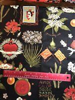 Frida Fabric Alexander Henry Folklorico Viva Frida 100% Cotton Fabric BTHY