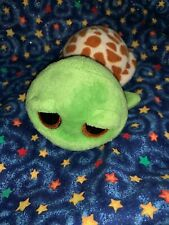 "Ty Beanie Boos Zippy the Turtle 7"" Beanbag Plush Stuffed Animal Toy Glitter Eyes"