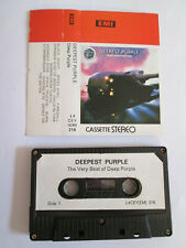 CINTA CASETE - DEEPEST PURPLE - THE VERY BEST OF DEEP PURPLE - 12 CANCIONES