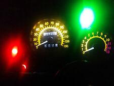 Blanco Kawasaki KLE 500 99-07 LED Dash Kit de conversión de Reloj lightenupgrade