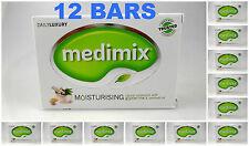 12 BARS Medimix 125grams Glycerine & Lakshadi Oil Ayurvedic Soap Natural USA SLR
