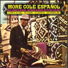 NAT KING COLE MORE COLE ESPANOL Great song in spanish 45T EP CAPITOL 1749