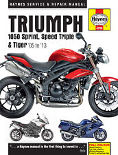 Reparaturhandbuch Triumph Sprint, Speed Triple & Tiger 1050 2005-2013