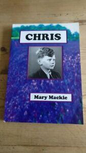 CHRIS BY MARY MACKIE HEACHAM NORFOLK RAF MILDENHALL BOOK