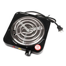 Portable 1000W Single Electric Burner Hot Plate 110V Portable Stove Stainless
