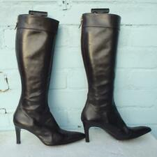 Marilyn Anselm Leather Boots Size Uk 3 Eur 36 Womens Brown Narrow Hobbs Boots