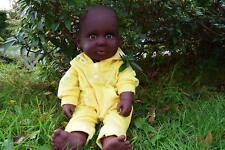 "20"" AMERICAN BLACK AFRICAN DOLL ADAM BABY BOYS MALE GENDER DOLL 51CM AFRO DOLL"