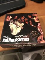 Singles 1968-1971 [Box] by The Rolling Stones (CD, Mar-2005, 10 Discs, ABKCO...