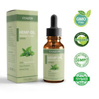 COAZON Premium 50% Strong Strength Hemp Oil 500mg Herbal Drops