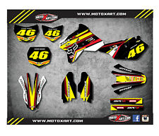 Suzuki DRZ 400 / 2000 - 2015 stickers SPEEDER style Custom Graphic Kit / decals
