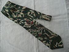 cravate soie vintage CACHAREL