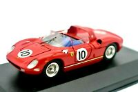 Model Car Ferrari 250 P 10 Dnf Gp Reims Scale 1:43 diecast Art Model 250P