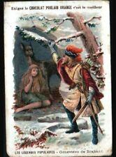 IMAGE CHROMO CHOCOLAT POULAIN / GENEVIEVE de BRABANT / LEGENDE POPULAIRE