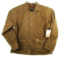 WOLVERINE Fleece Lined Heavy Upland Barn Jacket Bison Brown New with Tags Sz XL