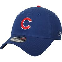 Chicago Cubs MLB New Era 49FORTY Hat Blue Baseball Cap Men's Sizes X-Small/Small