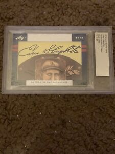 2012 Leaf Sports Icons Enos Slaughter Cut Signature, Card 15 Of 20, BGS, HOF
