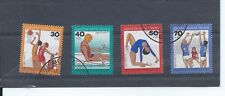 Germany stamps. 1976 Youth Welfare Training for the Olympics used (A872)