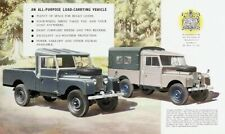 LAND ROVER 1954 SERIES-I '107' RETRO POSTER PRINT CLASSIC ADVERT A3 !!!