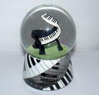 SANKYO WATER GLOBE MUSIC OF THE NIGHT WIND UP SHELF DECORATION PIANO