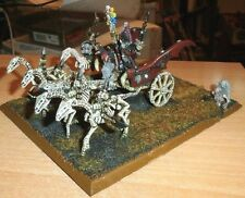 Warhammer Tomb Kings ARKHAM THE BLACK DUNGEONS DRAGONS PATHFINDER SIGMAR CHARIOT