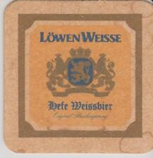 Bierdeckel / Beercoaster / Bierviltje Lowen  Weisse