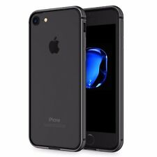 For iPhone 7 Case Black Aluminium Metal Frame Bumper Shock Side Drop Protector