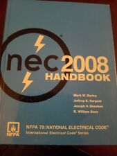 2008 NEC Handbook NFPA 70 Elec. Learning Technical Manual ISBN 9780877657934
